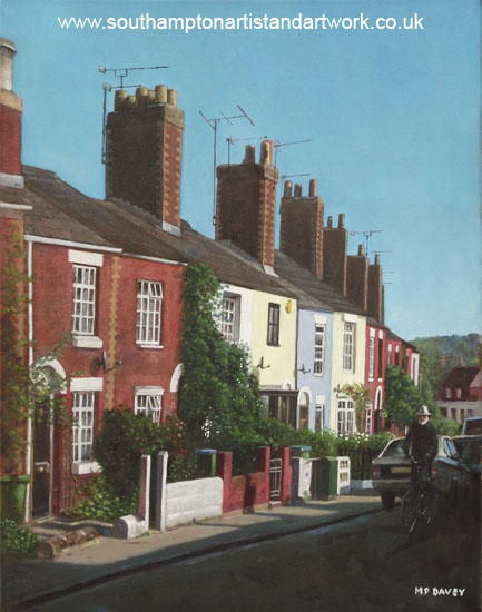 southampton_rockstone_lane - oil painting